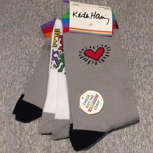 Keith Haring set of 3 pairs of socks